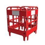 Plastic Gate Guard Set (4 Panel + 8 Clips) set
